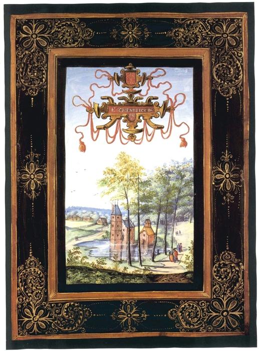 Kasteel van Essenbeek ca. 1600