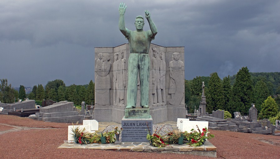 Monument Julien Lahaut in Seraing